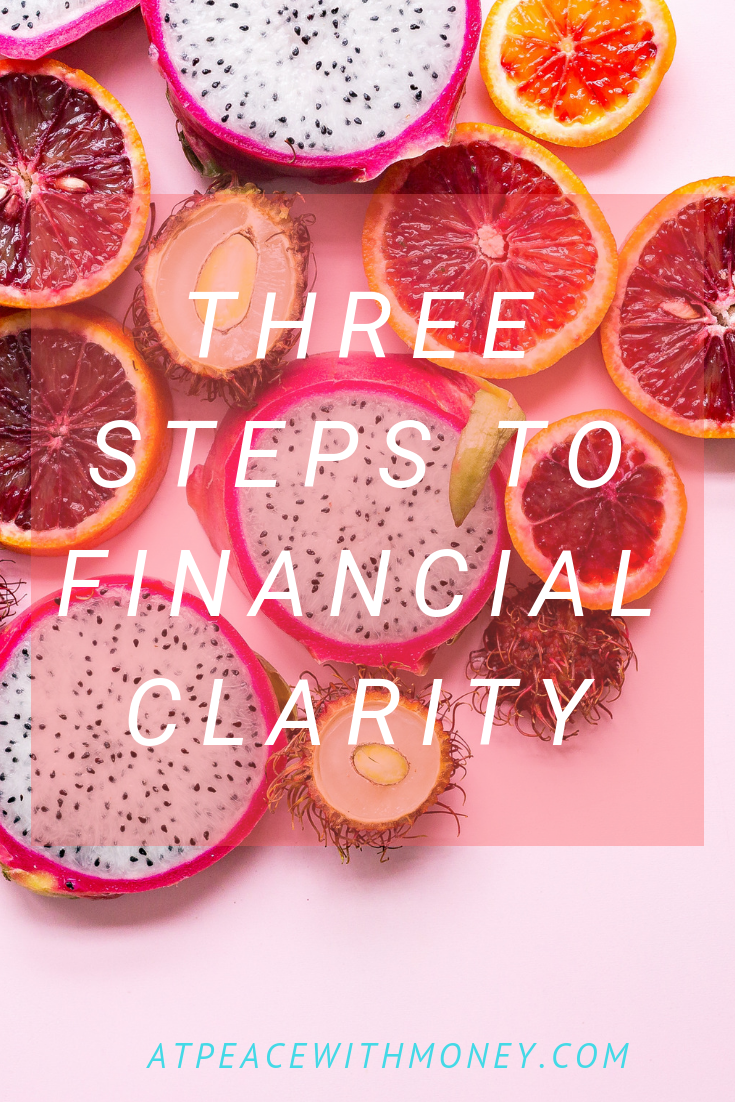 3 Steps to Financial Clarity: At Peace With Money