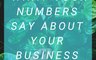 What Your Numbers Say About Your Business: At Peace With Money