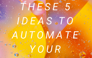 Pick One of These 5 Ideas to Automate Your Wealth: At Peace With Money