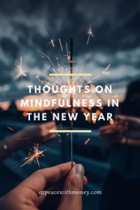 Money Mindfulness in 2018