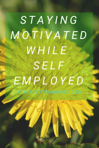 Staying Motivated as A Solopreneur: At Peace With Money