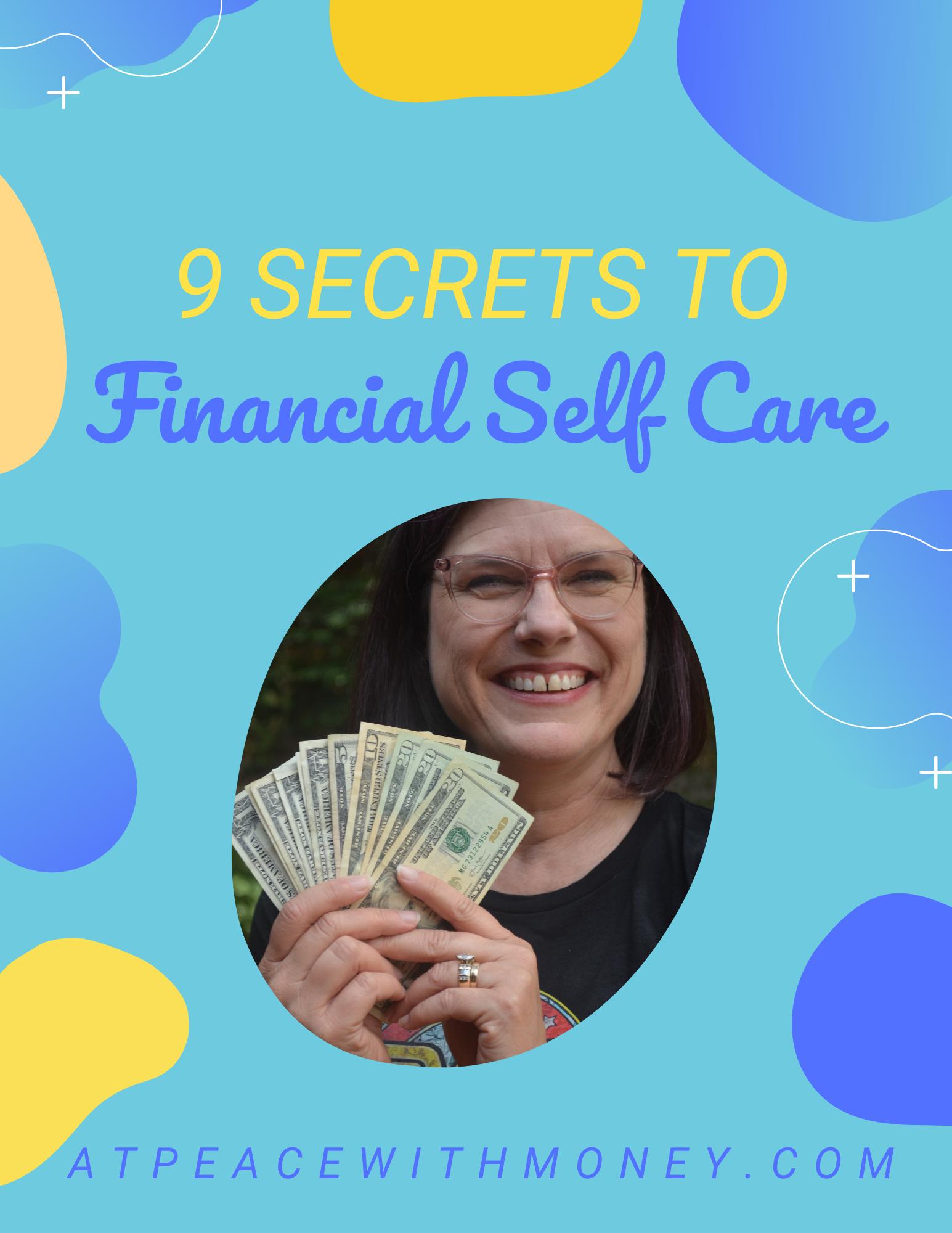 9 Secrets to Financial Self Care